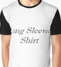Long Sleeved Shirt (Ironic Fashion) Graphic T-Shirt