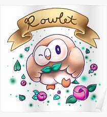 Team Rowlet Poster