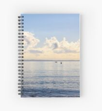 Blue Skies Spiral Notebook