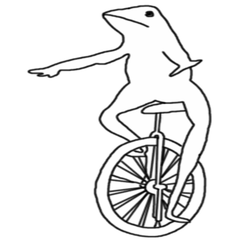 Dat Boi Coloring Pages