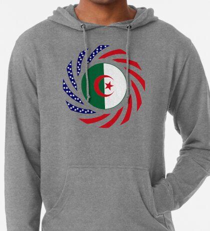 Algerian American Multinational Patriot Flag Lightweight Hoodie