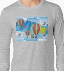 Air Balloons in the Sky 6 Long Sleeve T-Shirt