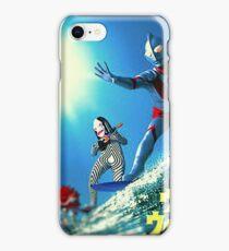Surf Ultraman iPhone Case/Skin