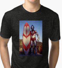 Surf Ultraman 1 Tri-blend T-Shirt