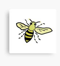 Friendly Bumble Bee Metal Print