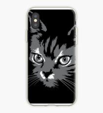 c0baf8090f7 Vinilo o funda para iPhone Silueta de gato negro silueta Silueta de gato  silueta gato