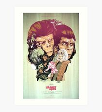 Planet of the Apes Poster Art Print