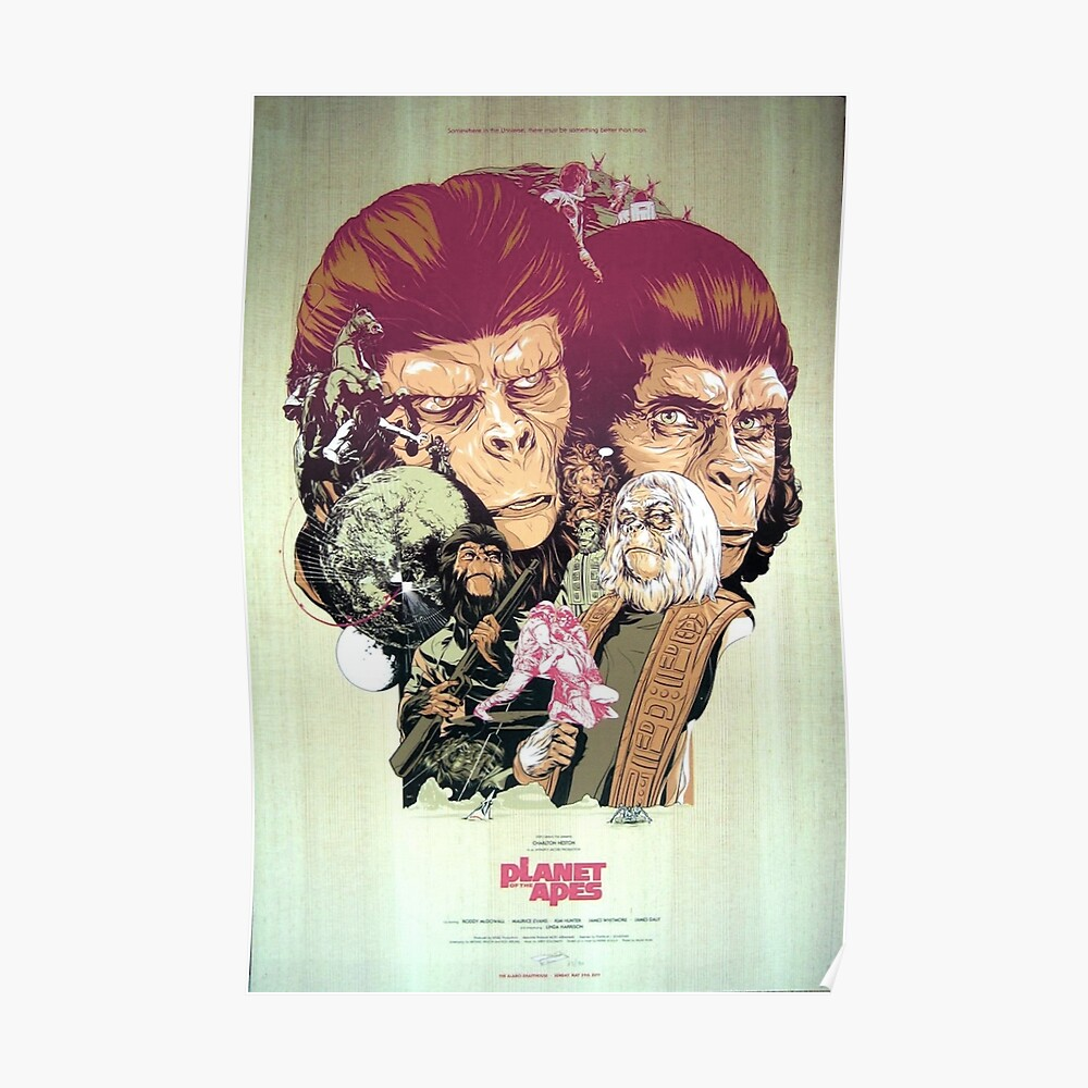 Planet der Affen Poster Poster