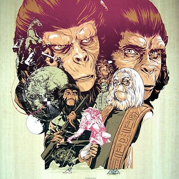 Planet of the Apes Poster by SuperMrStylo