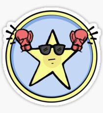 Fight Star Sticker