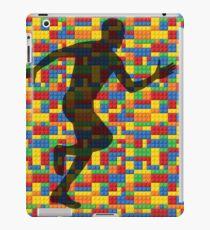 Lego - human body - running man  iPad Case/Skin