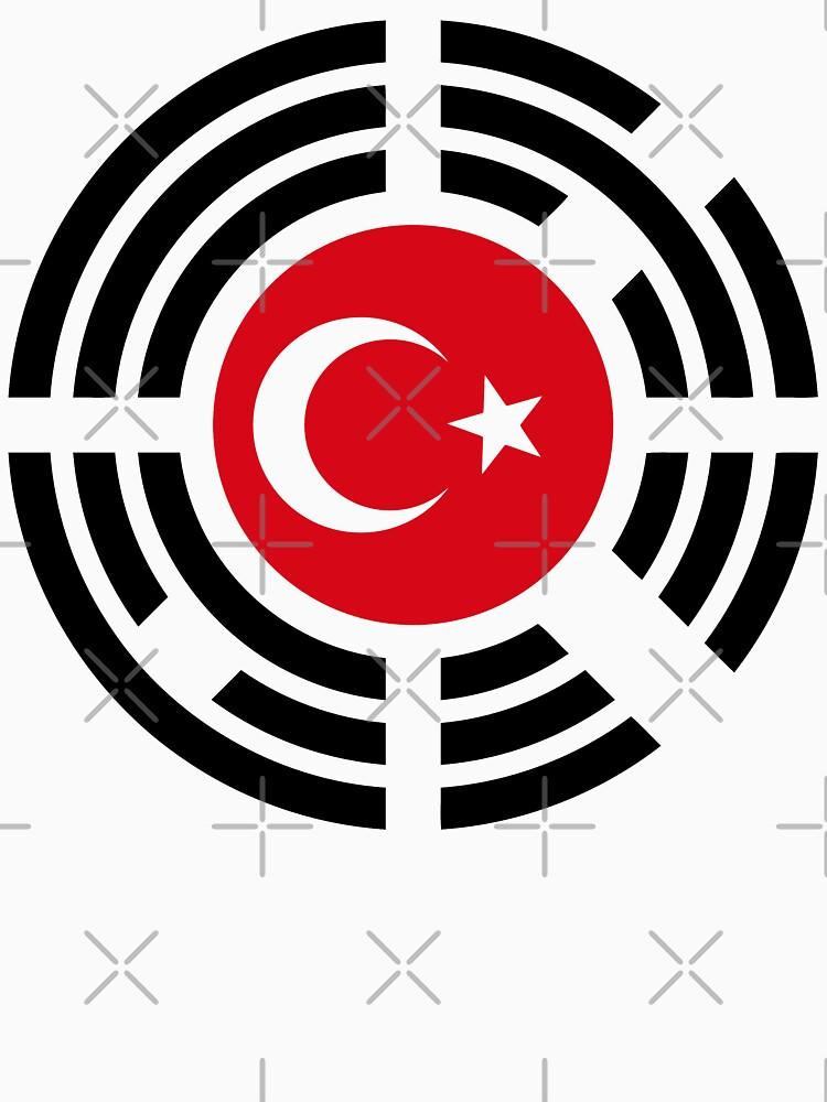 Korean Turkish Multinational Patriot Flag Series by carbonfibreme