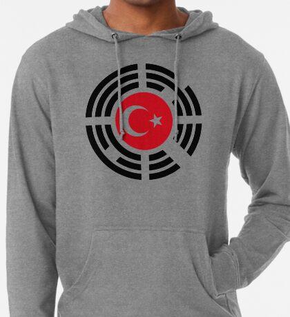 Korean Turkish Multinational Patriot Flag Series Lightweight Hoodie
