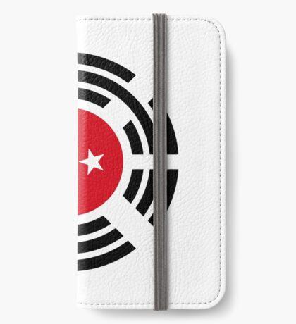Korean Turkish Multinational Patriot Flag Series iPhone Wallet
