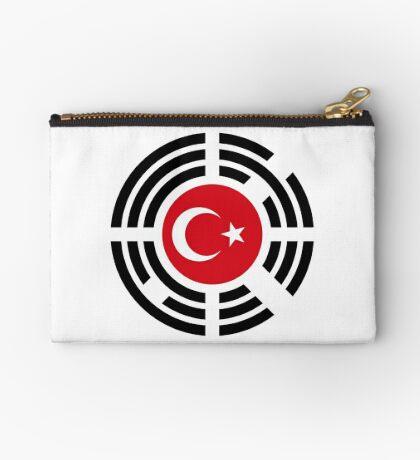 Korean Turkish Multinational Patriot Flag Series Zipper Pouch