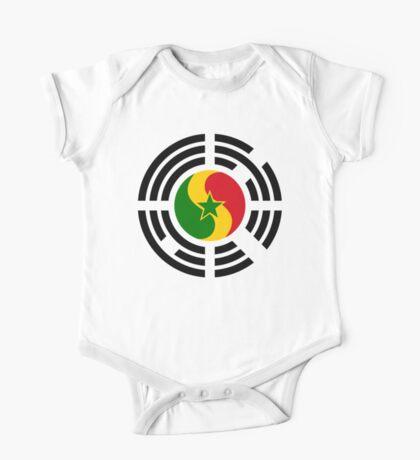 Korean Senegalese Multinational Patriot Flag Series Kids Clothes