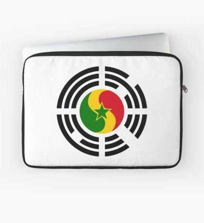Korean Senegalese Multinational Patriot Flag Series Laptop Sleeve