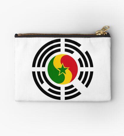 Korean Senegalese Multinational Patriot Flag Series Zipper Pouch