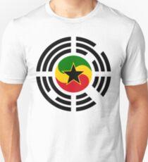 Korean Ghanaian Multinational Patriot Flag Series Slim Fit T-Shirt
