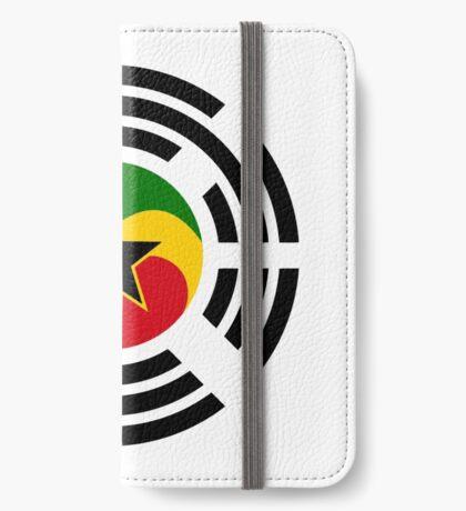Korean Ghanaian Multinational Patriot Flag Series iPhone Wallet