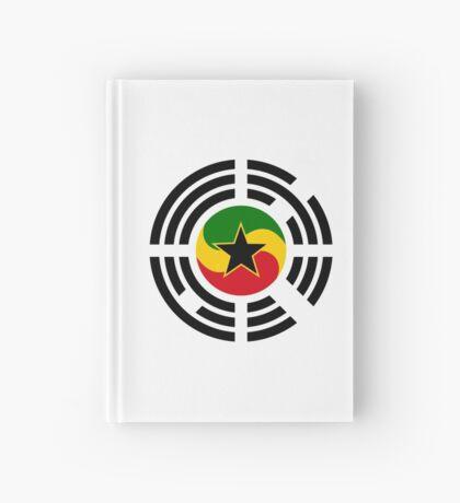 Korean Ghanaian Multinational Patriot Flag Series Hardcover Journal