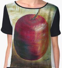 An apple a day........ Chiffon Top