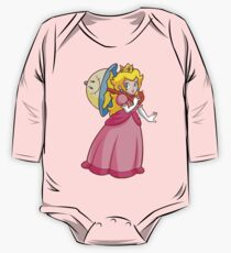 Prinzessin Peach! - Perry Baby Body Langarm