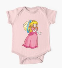 Prinzessin Peach! - Perry Baby Body Kurzarm