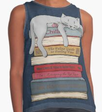 How to Chill Like a Cat Contrast Tank