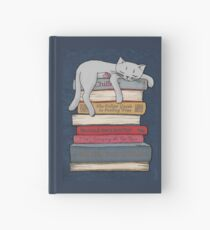 How to Chill Like a Cat Hardcover Journal
