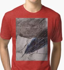 the quill Tri-blend T-Shirt