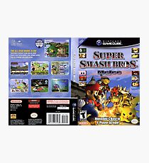 Super smash brothers melee for the nintendo gamecube Photographic Print