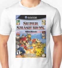 Camiseta unisex super smash brothers melee
