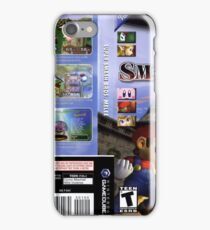 Super smash brothers melee for the nintendo gamecube iPhone Case/Skin