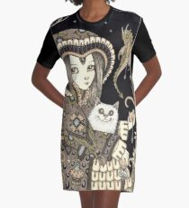 The Oracle Graphic T-Shirt Dress