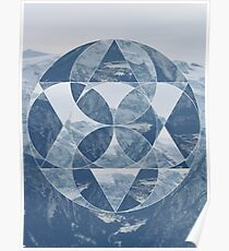 puzzle mountain Poster
