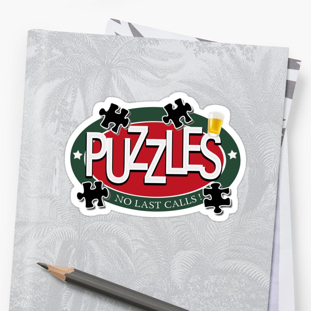 PUZZLES BAR - NO LAST CALLS! by josselinco