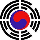 Korean Patriot Flag Series by Carbon-Fibre Media
