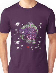 Interstellar Elephant Tee Unisex T-Shirt