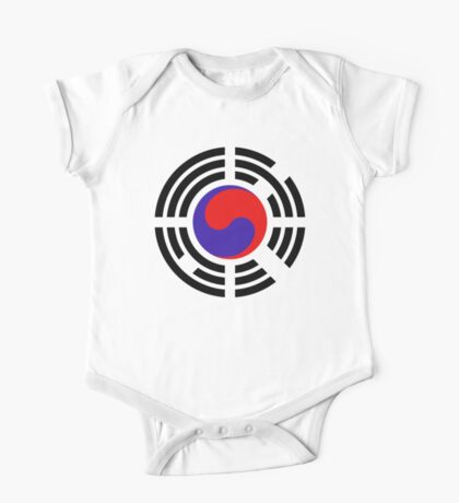 Korean Patriot Flag Series Kids Clothes