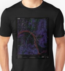 USGS TOPO Map Alabama AL Farley 303819 1964 24000 Inverted T-Shirt