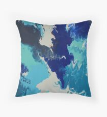 Ocean tropical breeze Throw Pillow
