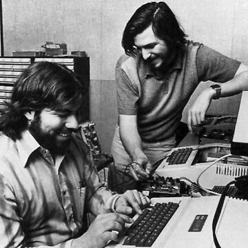 Jobs & Wozniak by josselinco