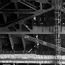 Sydney Harbour Bridge - detail 2 by Jack Bridges