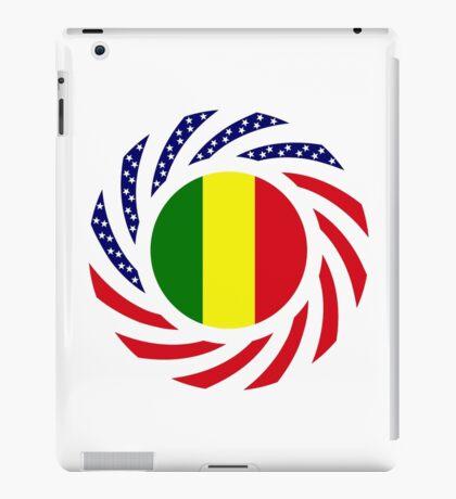 Mali American Multinational Patriot Flag Series iPad Case/Skin