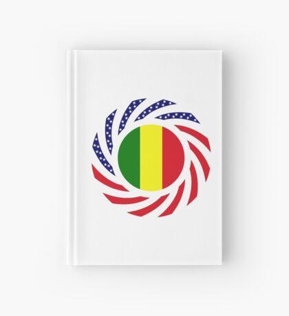 Mali American Multinational Patriot Flag Series Hardcover Journal