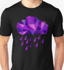 Purple Rain Pattern - Dark version T-Shirt
