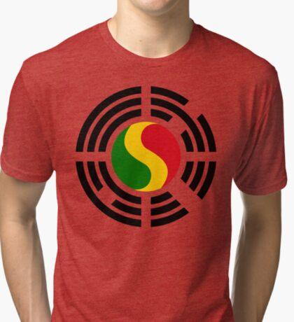 Korean Mali Multinational Patriot Flag Series Tri-blend T-Shirt
