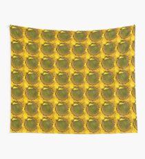 Sunflower - Macro Wall Tapestry