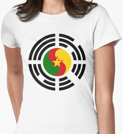 Korean Cameroonian Multinational Patriot Flag Series T-Shirt